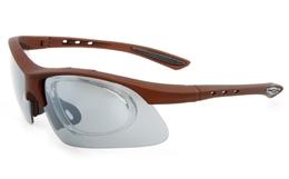 Vista Sport GEN1046 Propionate Mens Womens Semi-rimless Rectangle Sunglasses for Fashion,Sport Bifocals