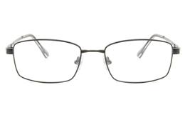 Vista First 2112 Titanium Memory Mens Full Rim Square Optical Glasses for Fashion,Classic,Nose Pads Bifocals