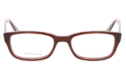 1197 Acetate(ZYL) Mens Womens Full Rim Square Optical Glasses for Classic Bifocals