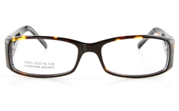 Vista First 0823 Acetate(ZYL) Mens Full Rim Optical Glasses - Square Frame for Fashion,Classic Bifocals