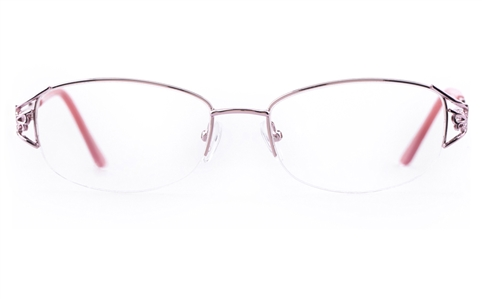 Vista First Stainless Steel Womens Oval Semi-rimless ...