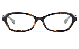 Vista First 0181 Acetate(ZYL) Womens Oval Full Rim Optical Glasses for Fashion,Classic Bifocals