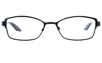 Poesia 6636 Stainless Steel/PC Womens Cat eye Full Rim Optical Glasses