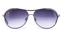 Vista Sport 2244 Stainless Steel Womens Round Full Rim Sunglasses