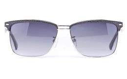 Vista Sport P1304 Stainless Steel Mens Square Full Rim Sunglasses for Fashion,Classic,Sport,Nose Pads Bifocals