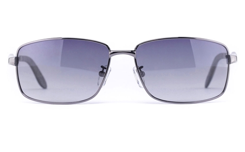 Vista Sport P1325 Stainless Steel Mens Square Full Rim Sunglasses