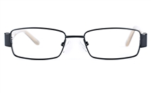 Vista Kids 5813 Stainless Steel/ZYL  Kids Square Full Rim Optical Glasses for Fashion,Classic,Nose Pads Bifocals