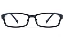 Poesia 3027 Propionate Mens Womens Rectangle Full Rim Optical Glasses for Classic Bifocals