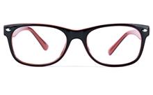 Poesia 3023 Propionate Womens Round Full Rim Optical Glasses for Fashion,Classic Bifocals