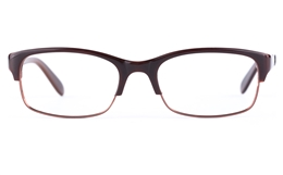 Vista First 0901 Stainless Steel/ZYL  Mens&Womens Oval Semi-rimless Optical Glasses