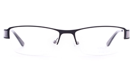 Vista First U3312 Stainless steel Mens Womens Oval Semi-rimless Optical Glasses for Fashion,Classic,Nose Pads Bifocals