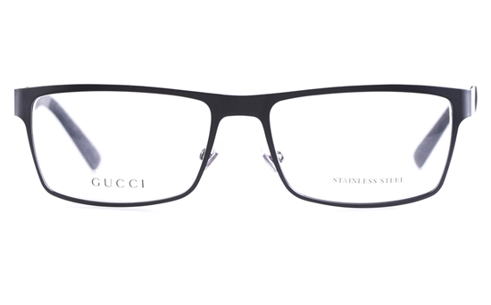Gucci Gg2228 Stainless Steel Mens Square Full Rim Optical