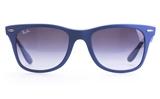 Ray-Ban RB4195 Polycarbonate(PC) Mens&Womens Round Full Rim Sunglasses