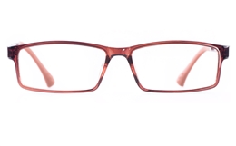Poesia 7003 COLOR ULTEM Mens Womens Rectangle Full Rim Optical Glasses for Classic Bifocals