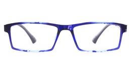 Poesia 7006 TEXTURE ULTEM Mens Womens Square Full Rim Optical Glasses for Classic,Wood Bifocals