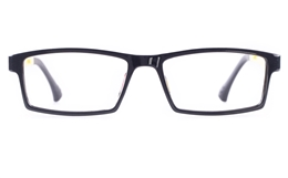 Poesia 7006 SMOOTH ULTEM Mens Womens Square Full Rim Optical Glasses for Classic Bifocals