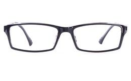 Poesia 7004 SMOOTH ULTEM Mens Womens Square Full Rim Optical Glasses for Classic Bifocals
