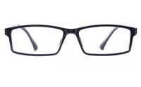 Poesia 7003 SMOOTH ULTEM Mens&Womens Rectangle Full Rim Optical Glasses