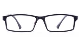 Poesia 7003 SMOOTH ULTEM Mens Womens Rectangle Full Rim Optical Glasses for Classic Bifocals