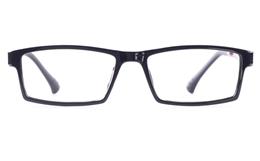 Poesia 7006 SMOOTH ULTEM Mens Womens Square Full Rim Optical Glasses for Classic Bifocals
