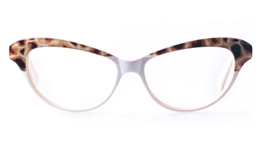 Vista First VS1001 Acetate(ZYL) Womens Cat eye Full Rim Optical Glasses for Fashion,Party Bifocals