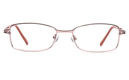 Poesia 6042 Stainless steel Womens Full Rim Optical Glasses for Fashion,Classic,Party,Nose Pads Bifocals