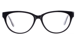 Vista First 0852 Acetate(ZYL)  Womens Full Rim Optical Glasses for Fashion,Classic,Party,Wood Bifocals