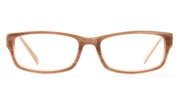Vista First 0854 Acetate(ZYL)  Mens   Womens Full Rim Optical Glasses for Fashion,Classic,Party,Wood Bifocals