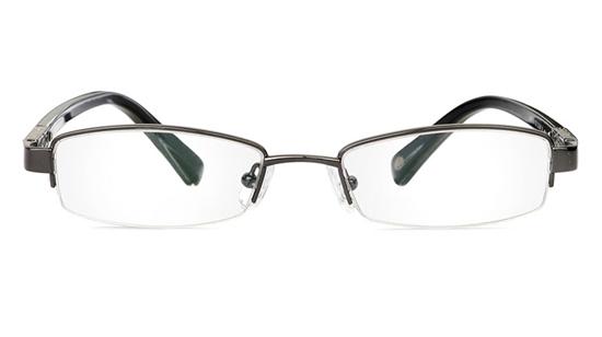 Vista First 1049 Stainless Steel/ZYL Mens&Womens Half Rim Optical Glasses