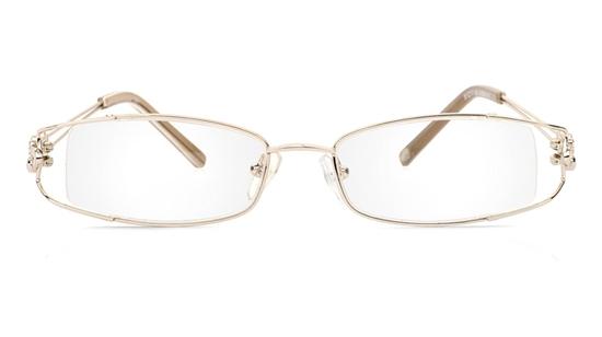 Vista First 1091 Stainless Steel/ZYL Half Rim Womens Optical Glasses