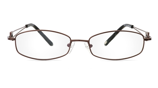 Vista First 1094 Stainless Steel/ZYL Full Rim Womens Optical Glasses