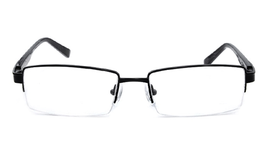 Vista First 1101 Stainless Steel Mens&Womens Half Rim Optical Glasses