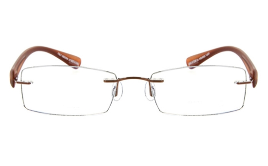 Vista First 5009 Stainless Steel Mens&Womens None Optical Glasses