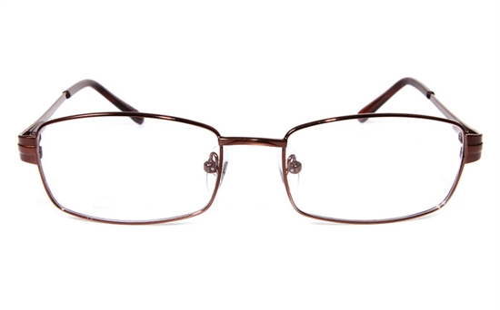 Poesia eso6606 Stainless Steel Mens&Womens Full Rim Optical Glasses