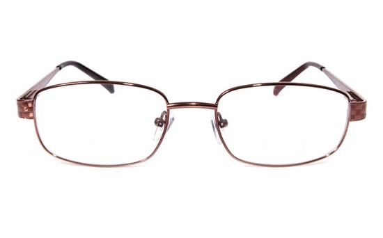 Poesia eso6607 Stainless Steel Mens&Womens Full Rim Optical Glasses