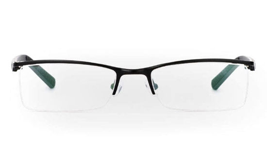 832 Stainless Steel Half Rim Mens Optical Glasses