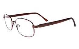 Poesia eso6603 Stainless Steel Mens&Womens Full Rim Optical Glasses