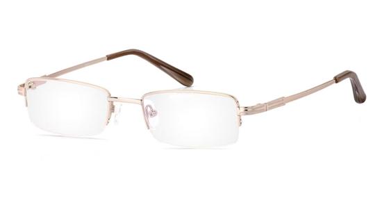 Vista First 2018 Titanium Memory Mens&Womens Half Rim Optical Glasses