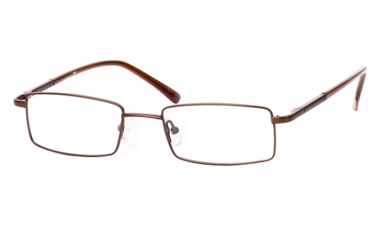 Vista First 1022 Stainless Steel/ZYL Full Rim Mens Optical Glasses