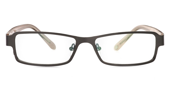 Vista First 1056 Stainless Steel/ZYL Full Rim Mens Optical Glasses