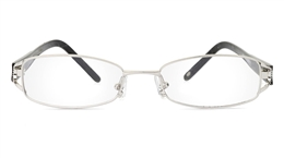 Vista First 1802 Stainless Steel Full Rim Womens Optical Glasses for Fashion,Classic,Party,Nose Pads